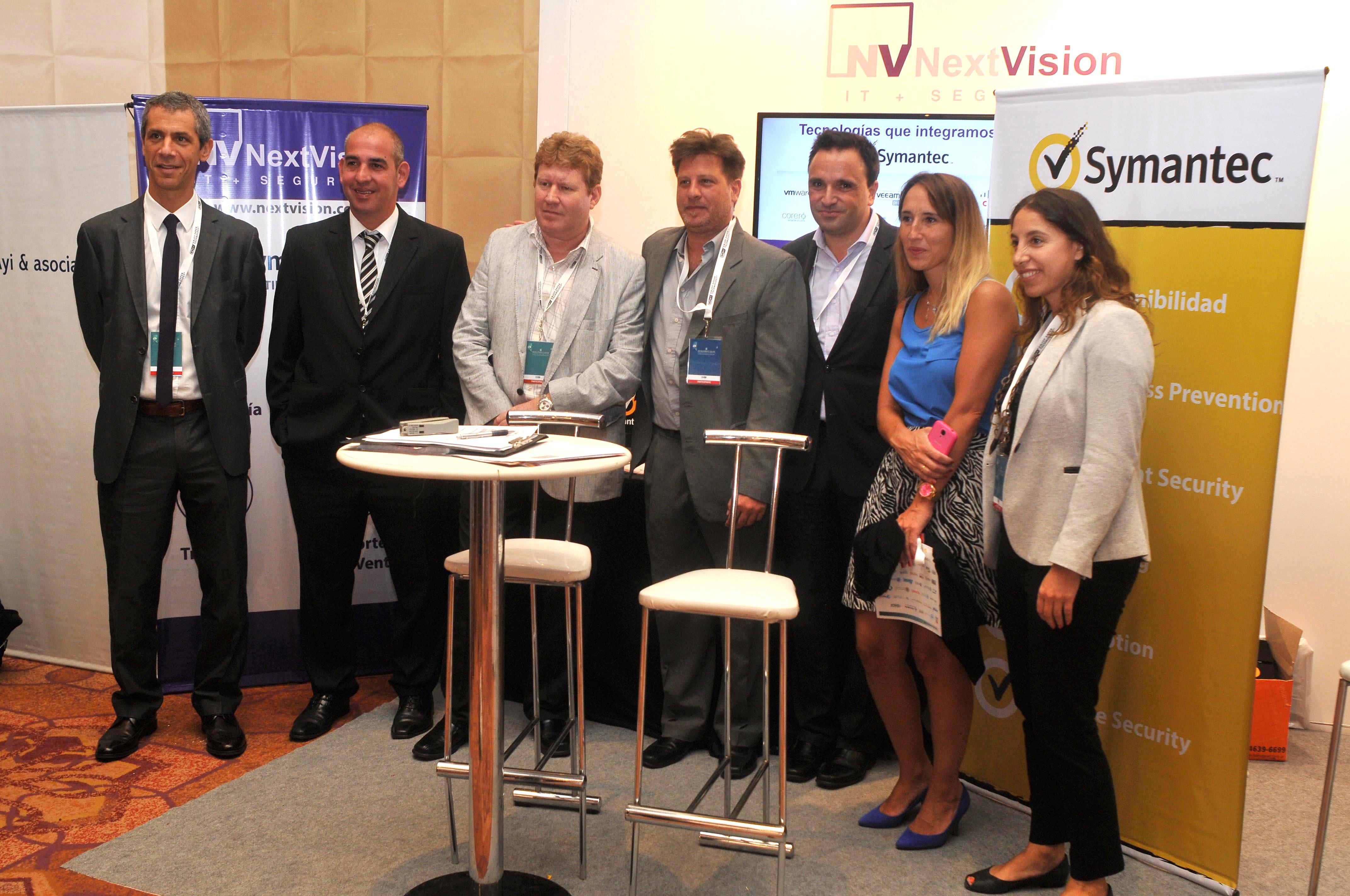 Sólida presencia de NextVision en Segurinfo 2015