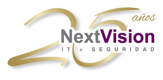 NextVision 25° aniversario: nuevo logo
