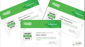 Certificaciones Veeam
