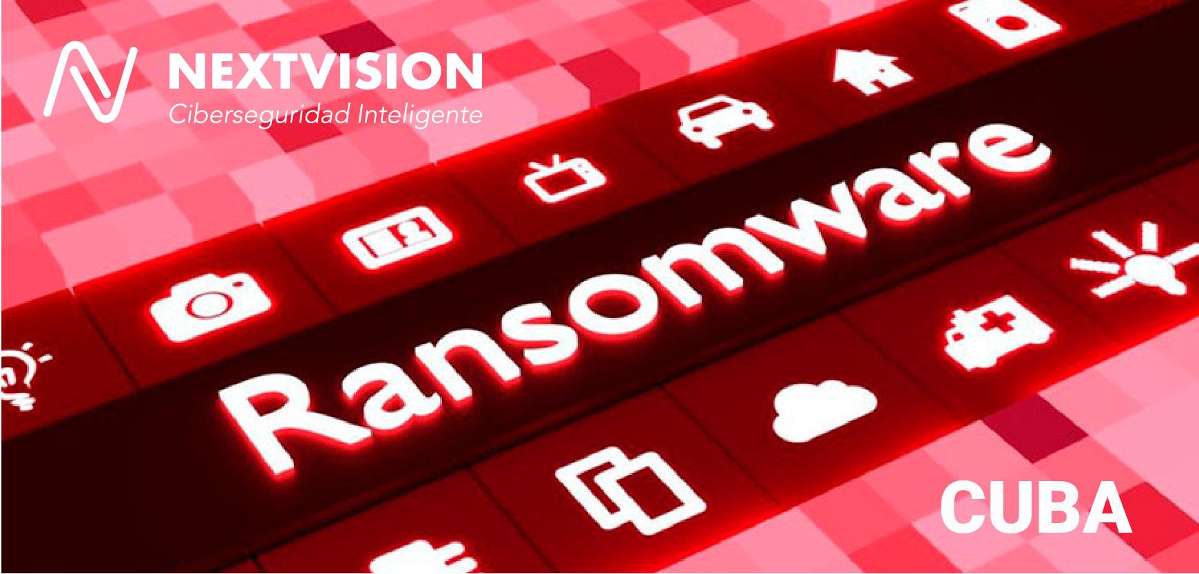 Difusión Alerta de Seguridad Ransomware CUBA